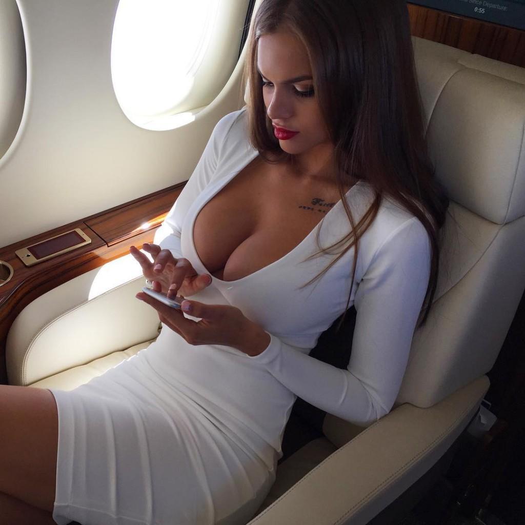 Femme russe homme riche